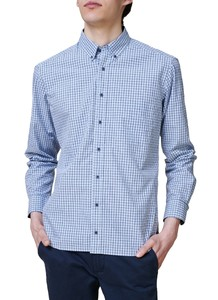 Maerz Button Down Check Overhemd Star Blue