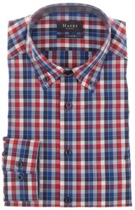 Maerz Button-Down Multicolor Check Overhemd Phoenix