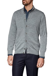 Maerz Button Merino Superwash Cardigan Mercury Grey