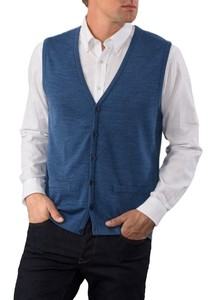 Maerz Button Merino Superwash Vest Deep Dive