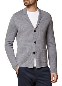 Maerz Button Uni Cardigan Mercury Grey