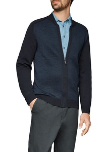 Maerz Cardigan Superwash Cardigan Navy