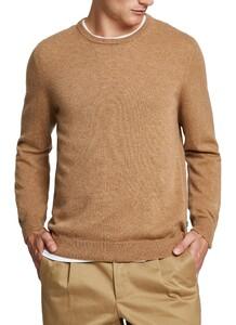 Maerz Cashmere Round Neck Pullover Teddy