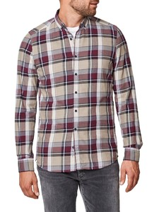 Maerz Check Button Down Shirt Heritage