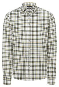 Maerz Classic Check Kent Shirt Kurkuma