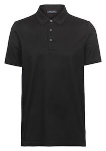 Maerz Cotton Poloshirt Poloshirt Black