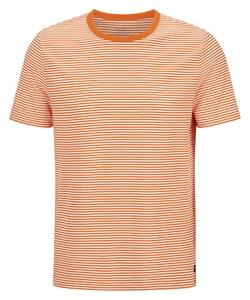 Maerz Cotton Stripe Round Neck T-Shirt Exuberance