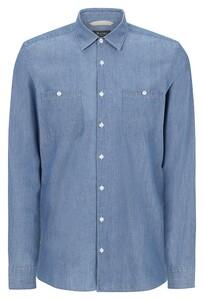 Maerz Denim Cotton Shirt Indigo