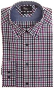 Maerz Easy Care Check Shirt Grape Twist