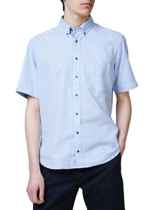 Maerz Fine Check Button Down Overhemd Star Blue