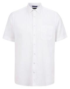 Maerz Fine Structure Shirt Pure White