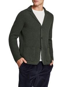 Maerz Knitted Button Cardigan Cardigan Dark Moor
