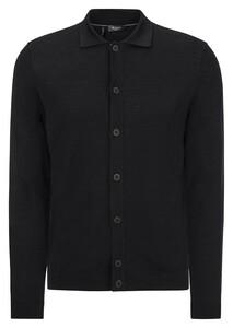 Maerz Merino Extafine Overshirt Overshirt Black