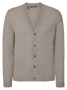 Maerz Merino Extrafine Button Cardigan Vest Sea Shell