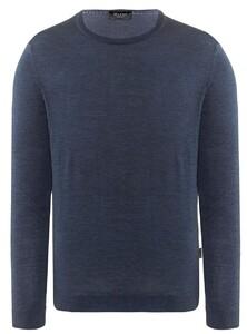 Maerz Merino Extrafine Roundneck Pullover Nimes Blue