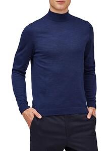 Maerz Merino Extrafine Turtleneck Pullover Dusk Blue