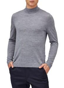 Maerz Merino Extrafine Turtleneck Pullover Gravel Grey