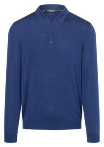 Maerz Merino Pullover Pullover Blue Velvet