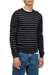 Maerz Merino Stripe Pullover Trui Zwart
