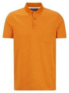 Maerz Mini Dot Faux Uni Polo Poloshirt Exuberance