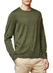 Maerz Modern Merino Pullover Camouflage Green