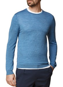 Maerz Modern Merino Pullover Copen Blue