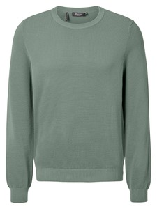 Maerz Organic Cotton Roundneck Trui Light Eucalyptus