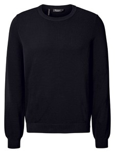 Maerz Organic Cotton Roundneck Trui Navy