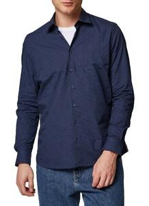 Maerz Point Design Shirt Navy
