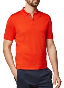 Maerz Polo Pullover Extrafine Merino Poloshirt Grenadine