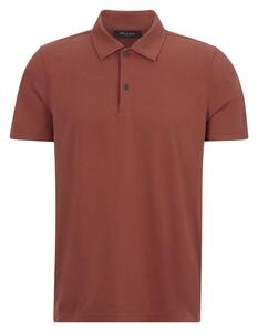 Maerz Polo Uni Cotton Poloshirt Brick