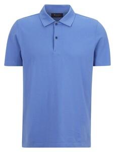 Maerz Polo Uni Cotton Poloshirt Lagoon Blue