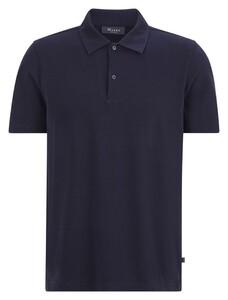 Maerz Polo Uni Cotton Poloshirt Navy