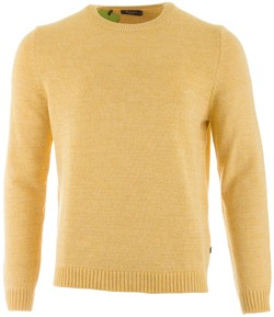 Maerz Pullover Cotton R-Neck Pullover Yellow Finch