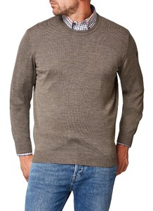 Maerz Round Neck Merino Superwash Pullover Hardwood
