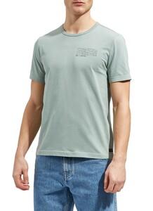 Maerz Round Neck Short Sleeve T-Shirt Light Eucalyptus