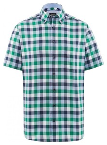 Maerz Short Sleeve Classic Overhemd Topaas