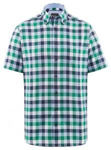 Maerz Short Sleeve Classic Shirt Topaz