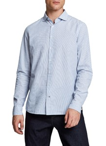 Maerz Striped Classic Overhemd Star Blue