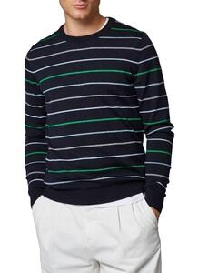 Maerz Striped Merino Pullover Trui Garden Green