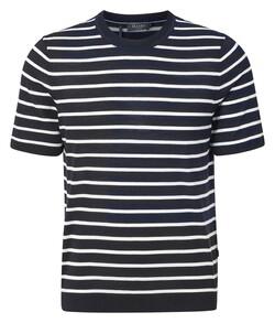 Maerz Summer Merino T-Shirt T-Shirt Navy