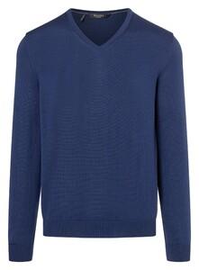 Maerz Superwash Merino Pullover Pullover Blue Velvet