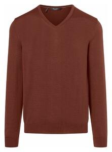 Maerz Superwash Merino Pullover Pullover Copper