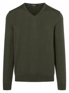 Maerz Superwash Merino Pullover Pullover Olive Night
