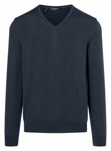 Maerz Superwash Merino Pullover Pullover Vintage Blue