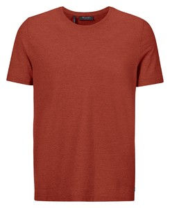 Maerz T-Shirt Round Neck T-Shirt Brick