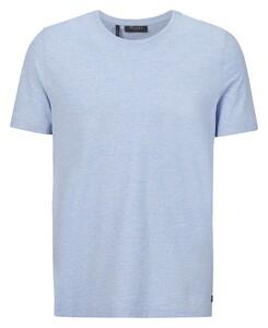 Maerz T-Shirt Round Neck T-Shirt Lagoon Blue