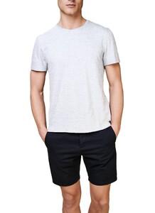 Maerz T-Shirt Round Neck T-Shirt Licht Grijs