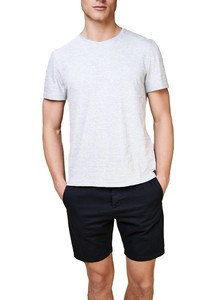 Maerz T-Shirt Round Neck T-Shirt Light Grey