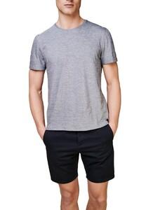 Maerz T-Shirt Round Neck T-Shirt Navy